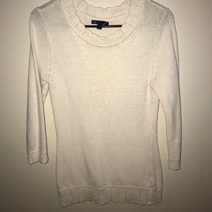 Gap Scalloped Sweater!